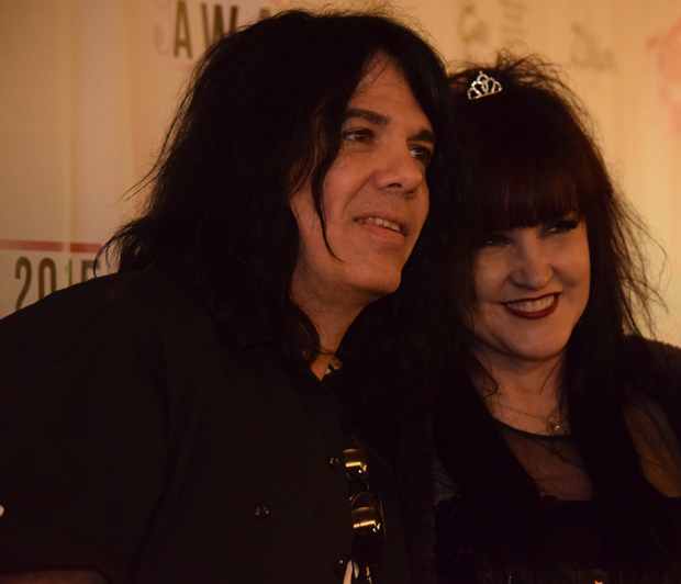 Schecter Guitars CEO Michael Ciravolo and 2013 She Rocks Awards Winner/Daisy Rock Guitars CEO Tish Ciravolo