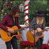 "Watch Orianthi and Richie Sambora Perform ""Happy X-Mas (War Is Over)"" on Home & Family"
