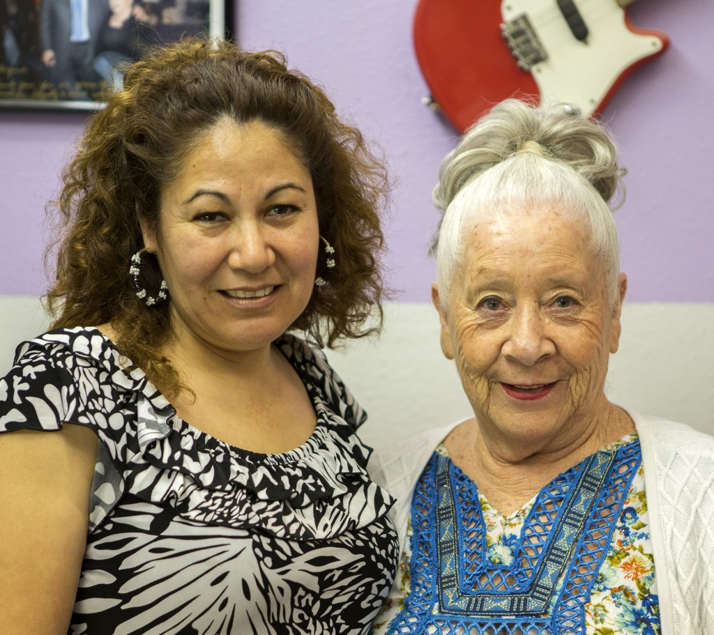 Fender Custom Shop Pickup Specialist Josefina Campos with Abigail Ybarra