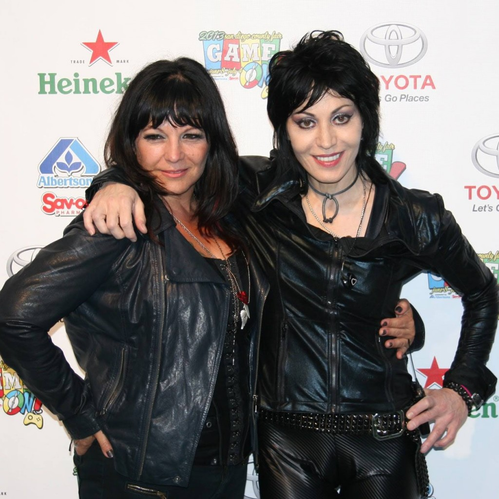Roni Lee and Joan Jett