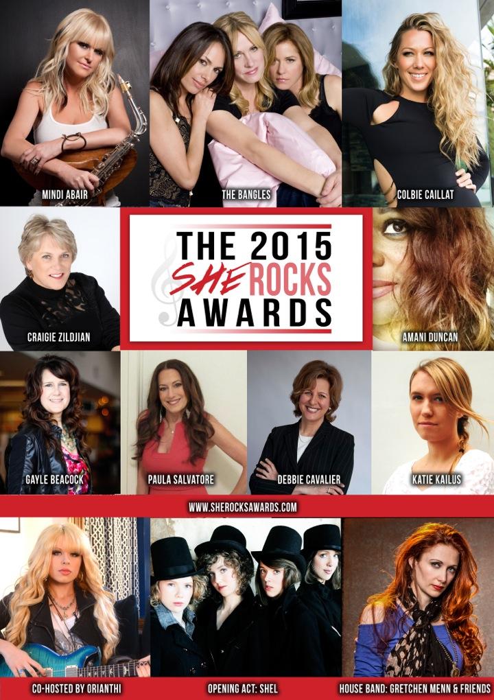 she rocks awards 2015 recipients update