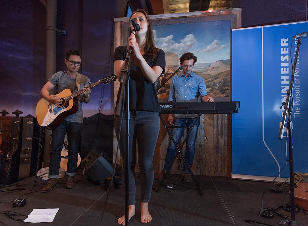 Dia Frampton performs during the 2015 She Rocks ASCAP Expo Showcase. Photo by Anjani Lynn White.