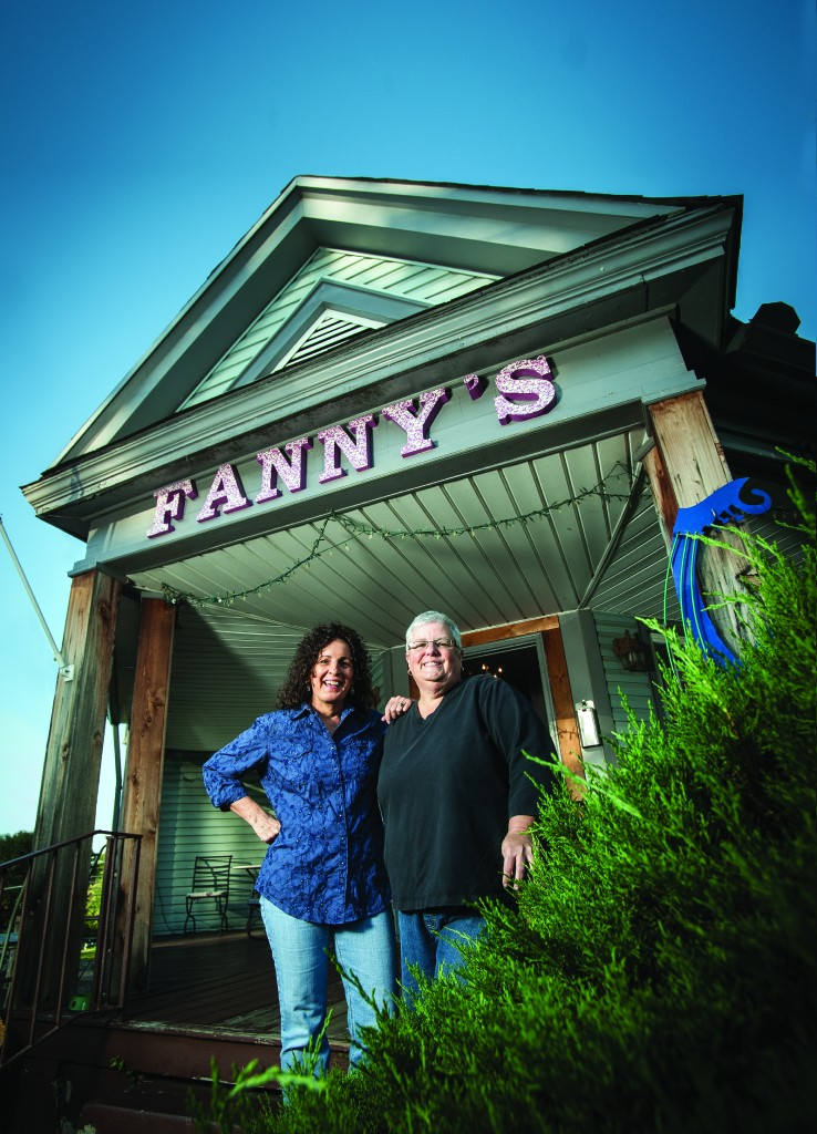 Leigh Maples (left) and Pamela Cole (right) of Fanny's House of Music.