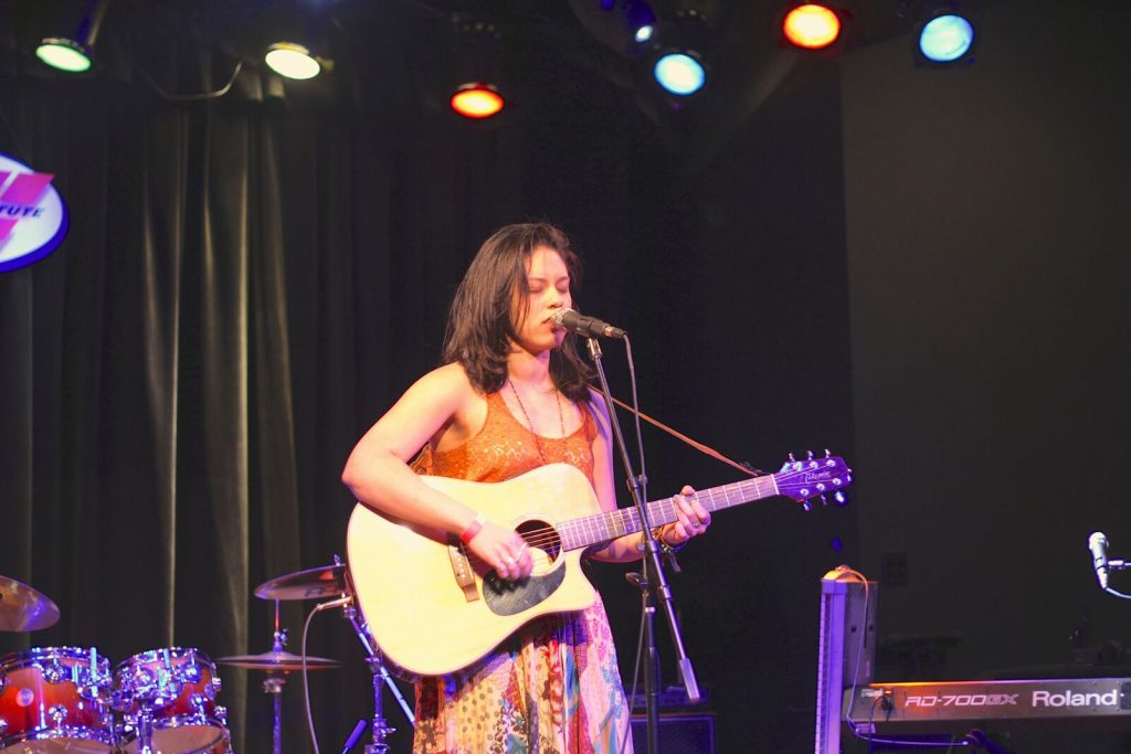 Marchan Noelle performing in our 2013 Women's Music Summit at Musicians Institute in Hollywood.