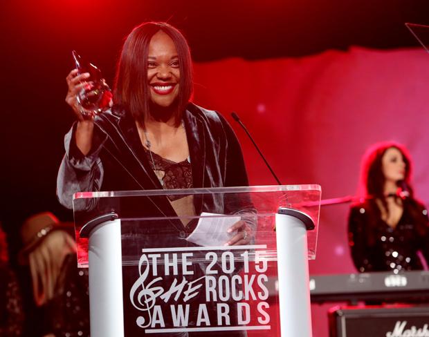 2015 She Rocks Awards Winner Amani Duncan of Martin Guitar