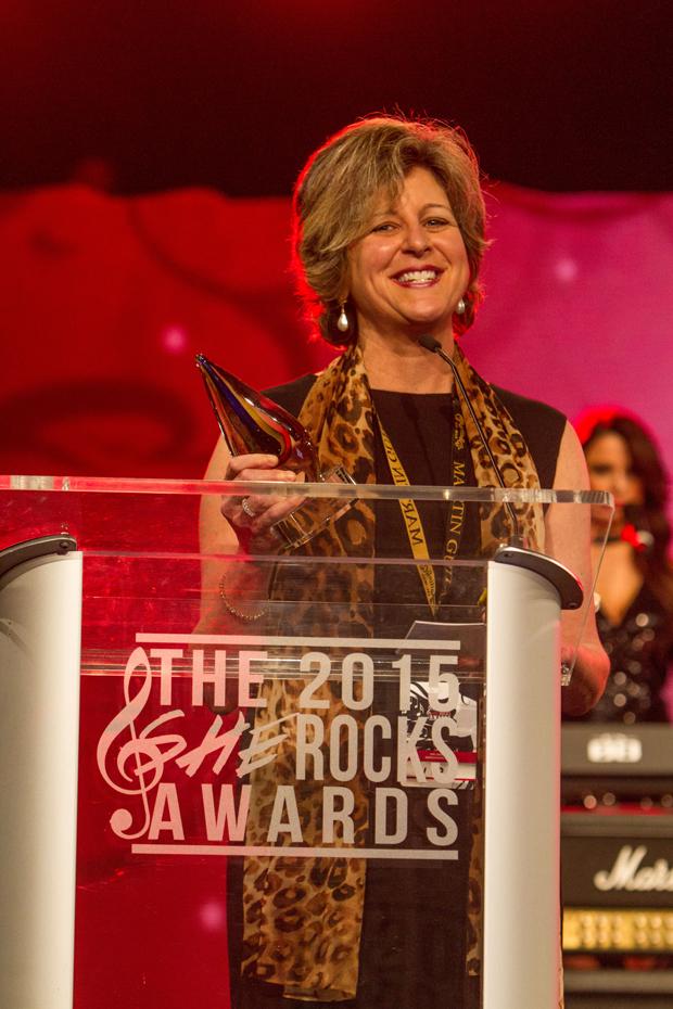 2015 She Rocks Awards Winner Debbie Cavalier of Berklee Online