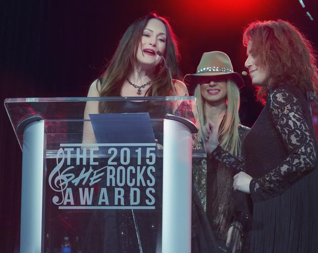 2015 She Rocks Awards Winner Paula Salvatore of Capitol Studios