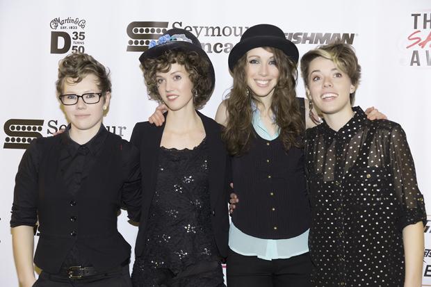 2015 She Rocks Awards Opening Band SHEL