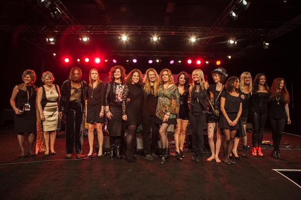 She Rocks Awards Participants Group Shot